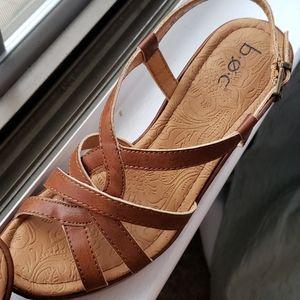 boc Shoes - Cute brown wedge heels